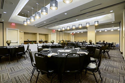 Banquet Hall for Wedding Reception Dinner