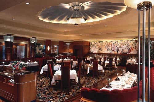 Vintage reception décor – Classic Steak & Seafood Dining, Las Vegas, NV