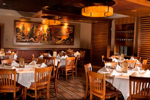 Semi-Private Wedding Reception Space – Classy Brazilian Steakhouse, Las Vegas, NV