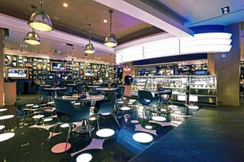 Cocktail wedding reception lounge room - Stylish & Casual Café, Las Vegas, NV